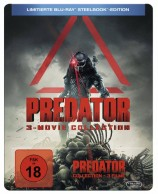 Predator 3-Movie Collection - Limitierte Steelbook Edition (Blu-ray)