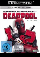 Deadpool 1+2 - Die komplette Kollektion / 4K Ultra HD Blu-ray + Blu-ray (4K Ultra HD)