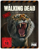 The Walking Dead - Staffel 08 / Uncut / Limited Weapon Steelbook - Shiva (Blu-ray)