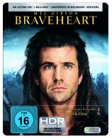 Braveheart - 4K Ultra HD Blu-ray + Blu-ray / Limited Steelbook (4K Ultra HD)