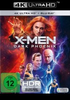 X-Men: Dark Phoenix - 4K Ultra HD Blu-ray + Blu-ray (4K Ultra HD)