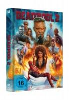 Deadpool 2 - Super Duper Cut + Kinofassung + DVD / Mediabook Swan (Blu-ray)