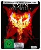 X-Men: Dark Phoenix - 4K Ultra HD Blu-ray + Blu-ray / Steelbook (4K Ultra HD)