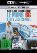Le Mans 66 - Gegen jede Chance - 4K Ultra HD Blu-ray + Blu-ray (4K Ultra HD)