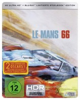 Le Mans 66 - Gegen jede Chance - 4K Ultra HD Blu-ray + Blu-ray / Limited Steelbook (4K Ultra HD)