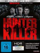 Hunter Killer - 4K Ultra HD Blu-ray + Blu-ray / Limited Steelbook (4K Ultra HD)