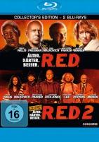 R.E.D. & R.E.D. 2 - Collector's Edition (Blu-ray)
