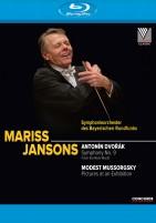 Mariss Jansons dirigiert Dvorak und Mussorgsky (Blu-ray)
