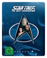 Star Trek - The Next Generation - Season 5 / Steelbook (Blu-ray)