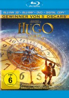Hugo Cabret 3D - Blu-ray 3D + 2D + DVD + Digital Copy (Blu-ray)
