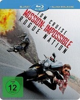 Mission: Impossible 5 - Rogue Nation - Limited Steelbook (Blu-ray)