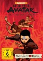 Avatar - Der Herr der Elemente - Buch 3: Feuer / Vol. 1 (DVD)