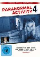 Paranormal Activity 4 - Extended Cut & Kinofassung (DVD)