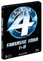 Fantastic Four I + II - Limited Steelbook Edition (Blu-ray)