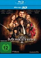 Die Drei Musketiere 3D - Blu-ray 3D (Blu-ray)