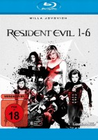 Resident Evil 1-6 (Blu-ray)