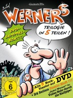 Werner 1-5 - Comicbox (DVD)