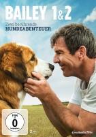 Bailey 1&2 - Zwei berührende Hundeabenteuer (DVD)