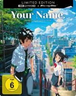 Your Name. - Gestern, heute und für immer - 4K Ultra HD Blu-ray + Blu-ray / Limited Steelbook (4K Ultra HD)