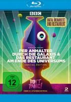 Per Anhalter durch die Galaxis & Das Restaurant am Ende des Universums - Digital Remastered (Blu-ray)