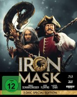 Iron Mask - 4K Ultra HD Blu-ray + Blu-ray 3D + Blu-ray / Mediabook (4K Ultra HD)