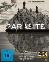 Parasite - 4K Ultra HD Blu-ray + Blu-ray + Bonus Blu-ray / Mediabook / Cover A (4K Ultra HD)