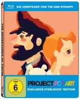Die Abenteuer von Tim und Struppi - Das Geheimnis der Einhorn - Steelbook-Edition / Popart (Blu-ray)