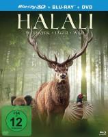 Halali - Weidwerk, Jäger, Wild - Blu-ray 3D + 2D + DVD (Blu-ray)