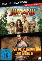 Jumanji - Willkommen im Dschungel & Welcome to the Jungle - Best of Hollywood - 2 Movie Collector's Pack (DVD)