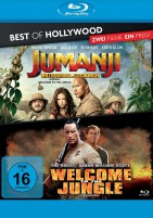 Jumanji - Willkommen im Dschungel & Welcome to the Jungle - Best of Hollywood - 2 Movie Collector's Pack (Blu-ray)
