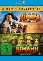 Jumanji - Willkommen im Dschungel & The Next Level (Blu-ray)