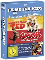 Filme für Kids - Tierische Unterhaltung (DVD)