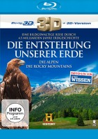Die Entstehung unserer Erde - Die Alpen + Die Rocky Mountains / Blu-ray 3D + 2D (Blu-ray)