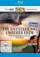 Die Entstehung unserer Erde - Der Vesuv + Der Pazifische Feuerring / Blu-ray 3D + 2D (Blu-ray)