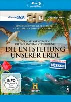 Die Entstehung unserer Erde - Die San Andreas Verwerfung + Der Marianengraben / Blu-ray 3D + 2D (Blu-ray)