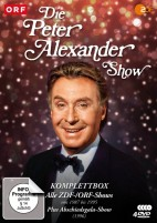 Die Peter Alexander Show - Komplettbox / Alle ZDF-Shows von 1987-1995 plus Abschiedsgala (DVD)