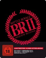 Battle Royale 2 - 3-Disc SteelBook inkl. Requiem Cut, Revenge Cut und Bonus-BD (Blu-ray)