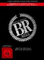 Battle Royale 1 & 2 - 4-Disc Limited Collector's Edition (Blu-ray)