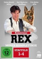 Kommissar Rex - Staffel 1-4 / Moser Komplettbox (DVD)