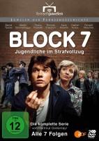 Block 7 - Jugendliche im Strafvollzug - Die komplette Serie / Teil 1-7 (DVD)