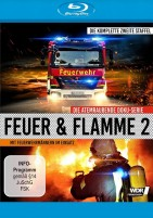 Feuer und Flamme - Mit Feuerwehrmännern im Einsatz - Staffel 02 (Blu-ray)