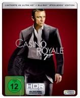 James Bond 007 - Casino Royale - 4K Ultra HD Blu-ray + Blu-ray / Steelbook (4K Ultra HD)