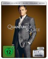 James Bond 007 - Ein Quantum Trost - 4K Ultra HD Blu-ray + Blu-ray / Steelbook (4K Ultra HD)