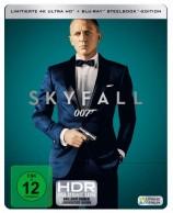 James Bond 007 - Skyfall - 4K Ultra HD Blu-ray + Blu-ray / Steelbook (4K Ultra HD)