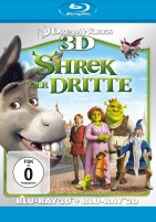 Shrek der Dritte 3D - Blu-ray 3D + Blu-ray (Blu-ray)