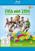 FIFA WM 2014 - Alle Spiele der deutschen Mannschaft (Blu-ray)