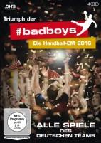 Triumph der Badboys - Die Handball-EM 2016 - Alle Spiele des deutschen Teams (DVD)
