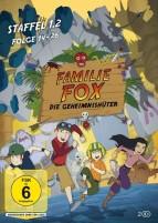 Familie Fox - Die Geheimnishüter - Staffel 1.2 (DVD)