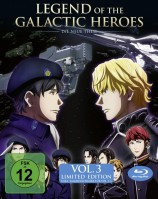 Legend of the Galactic Heroes: Die Neue These - Volume 3 / inkl. Sammelschuber (Blu-ray)