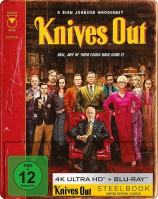 Knives Out - Mord ist Familensache - 4K Ultra HD Blu-ray + Blu-ray / Limited Steelbook (4K Ultra HD)